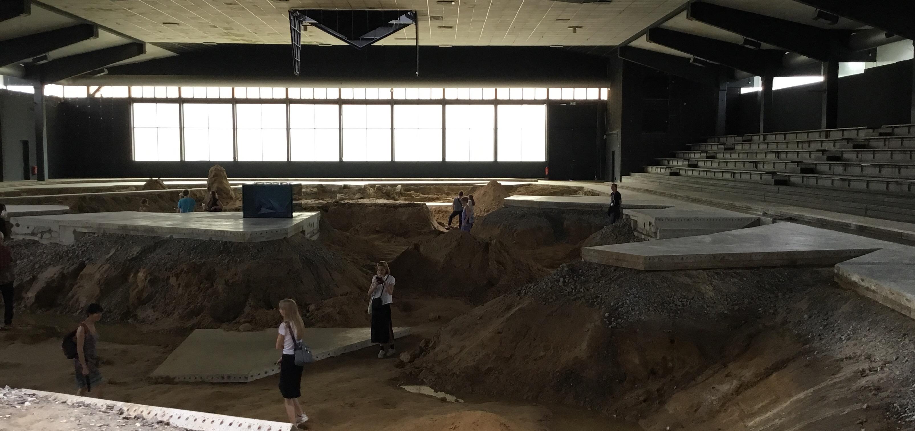 Grabungen in der Eishalle Münster