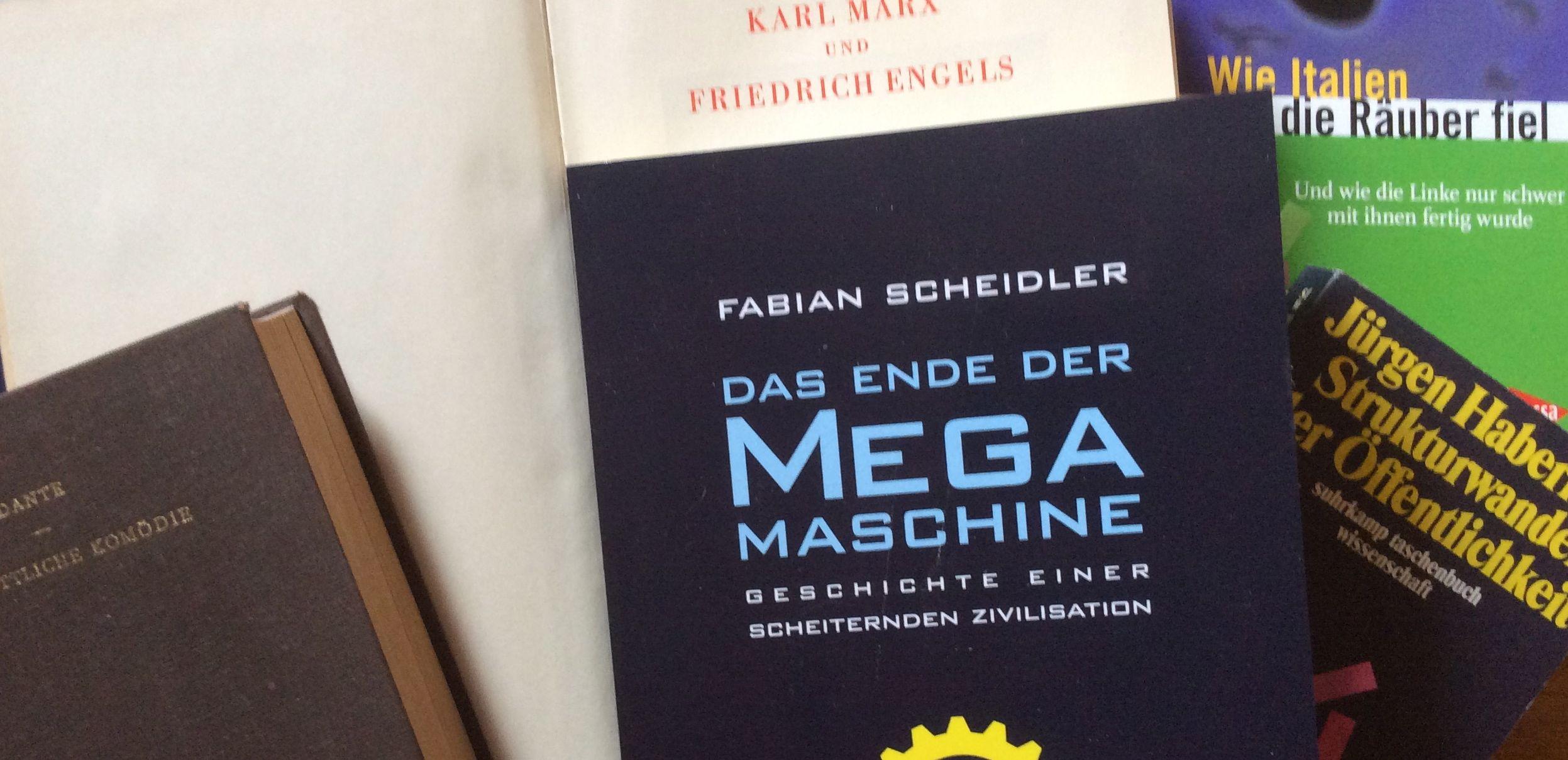 Buchcover des Megabuchs Megamaschine