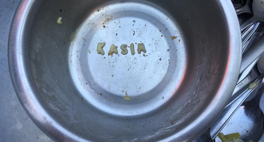 Buchstabensuppe ist nicht ausgelöffelt