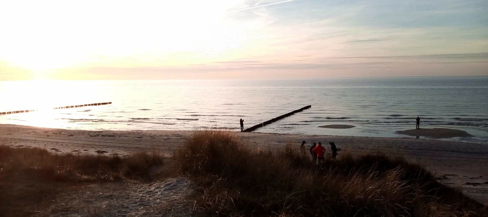 Natürliche Grenzerfahrung an der Küstenlinie Hiddensees