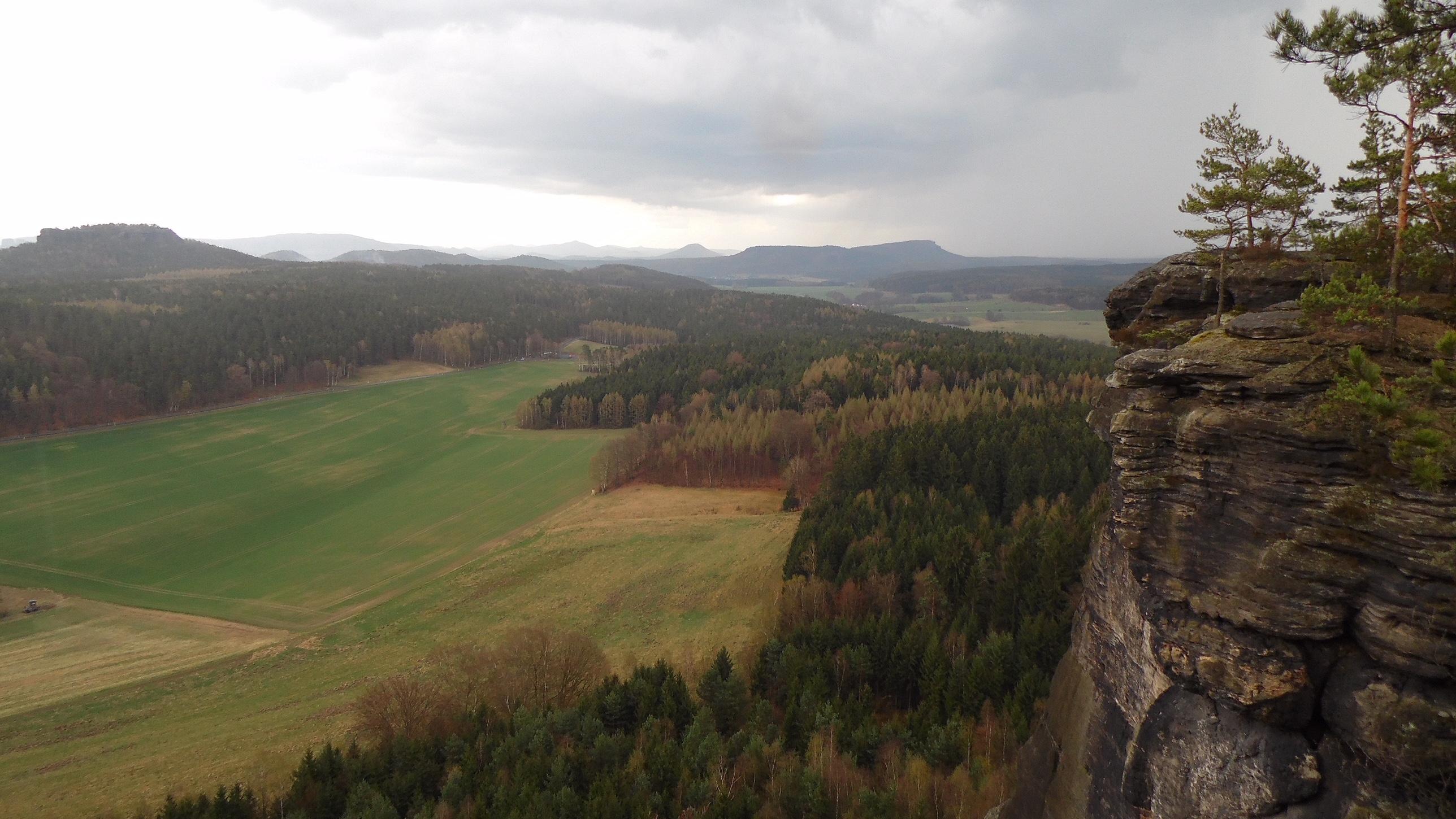 Ausblick Pfaffensteine