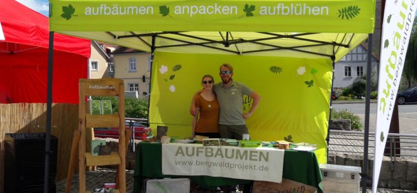 Infostand in Markbreit