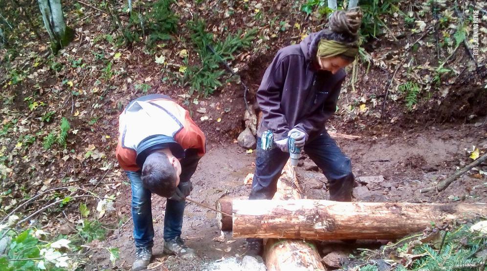 Holzkästen müssen zusammenhalten.