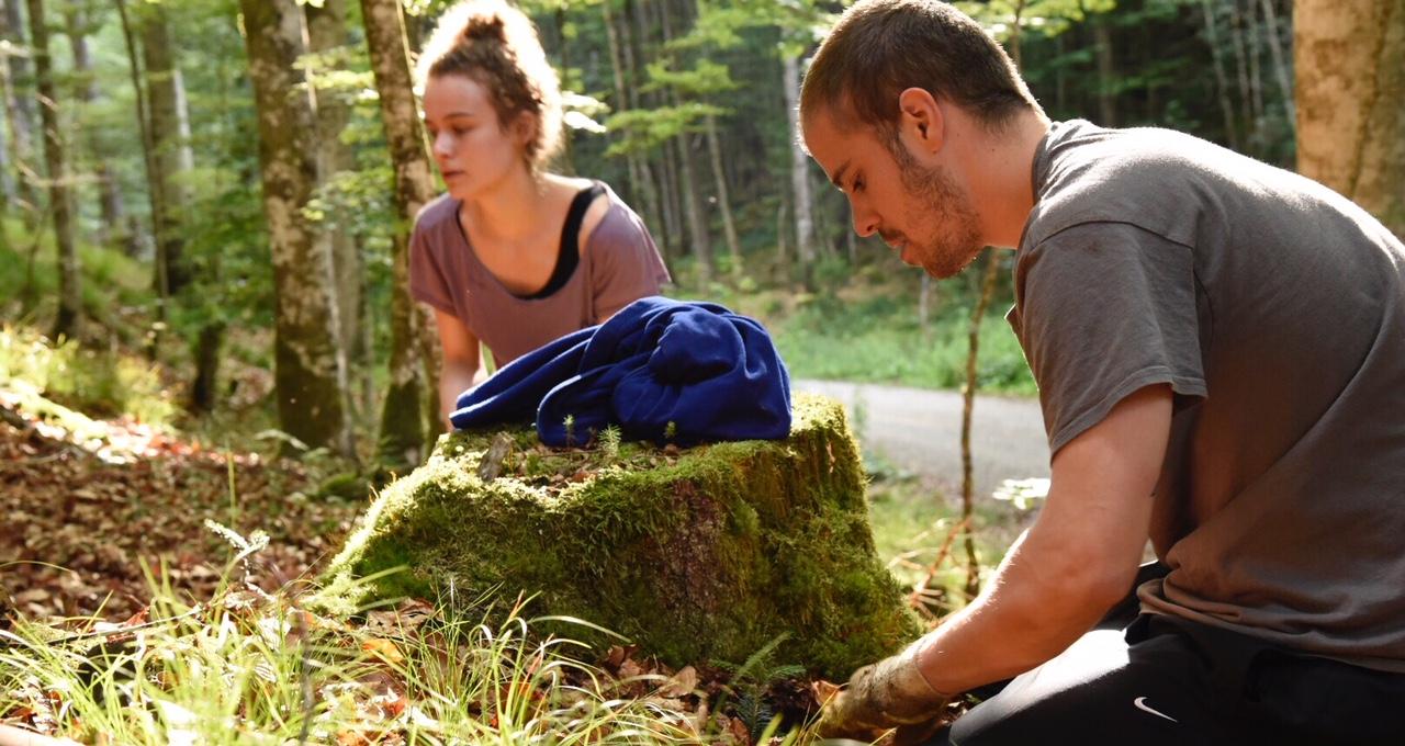 Weißtannenpflanzung in der Schutzwaldsanierung