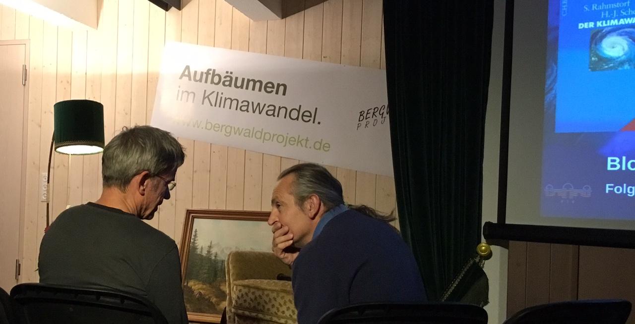 Stefan Rahmstorf im Waldsalondialog