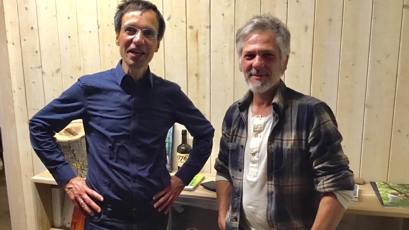 Markus Wissen und Stephen Wehner